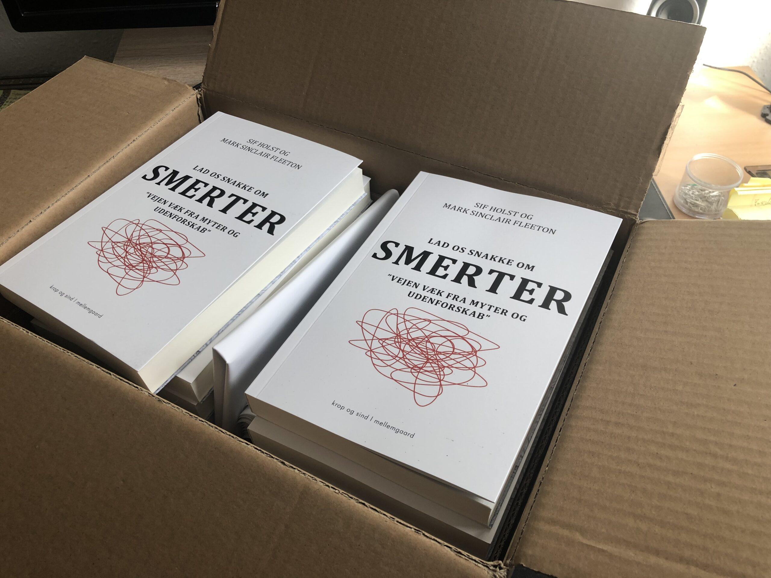 Bogen er ankommet fra trykkeriet!